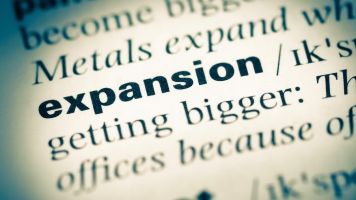 """The dictionary definition of the word """"expansion."""""""